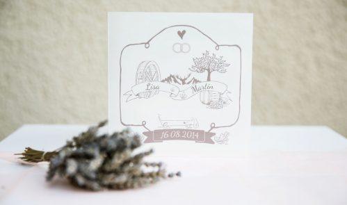 Hochzeitseinladung - SARAS - Sarah Kleindienst
