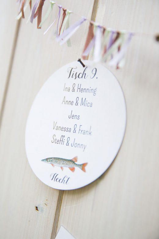 Tischnummern - Hochzeits-Papeterie