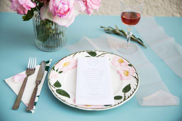 Gestaltung eures Menüs - Tischdekoration - Hochzeits-Papeterie